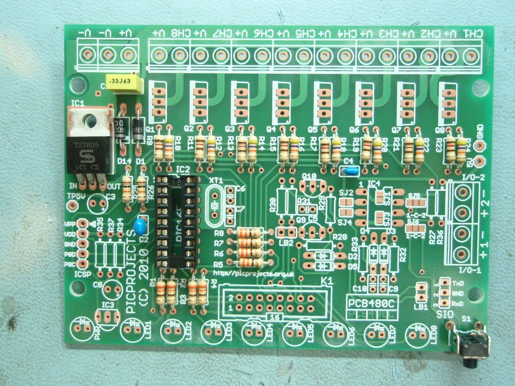 8 Channel Pwm Power Mosfet Led Chaser Circuit Diagram Additionally Step 5