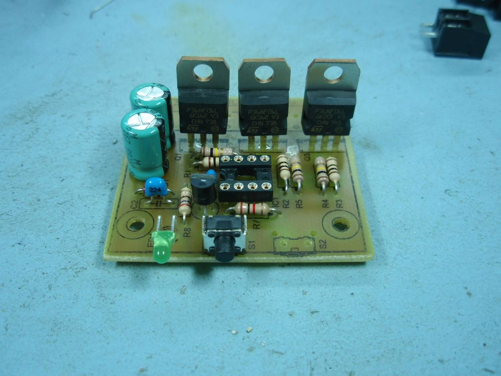 Pwm Constant Current Power Led Driver Electronics Projects Circuits