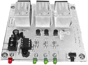 3-Channel IR Relay Controller