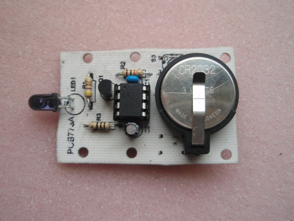 3 Switch Mini Ir Remote Control Infrared Switches Circuits Projects 5 Fig5