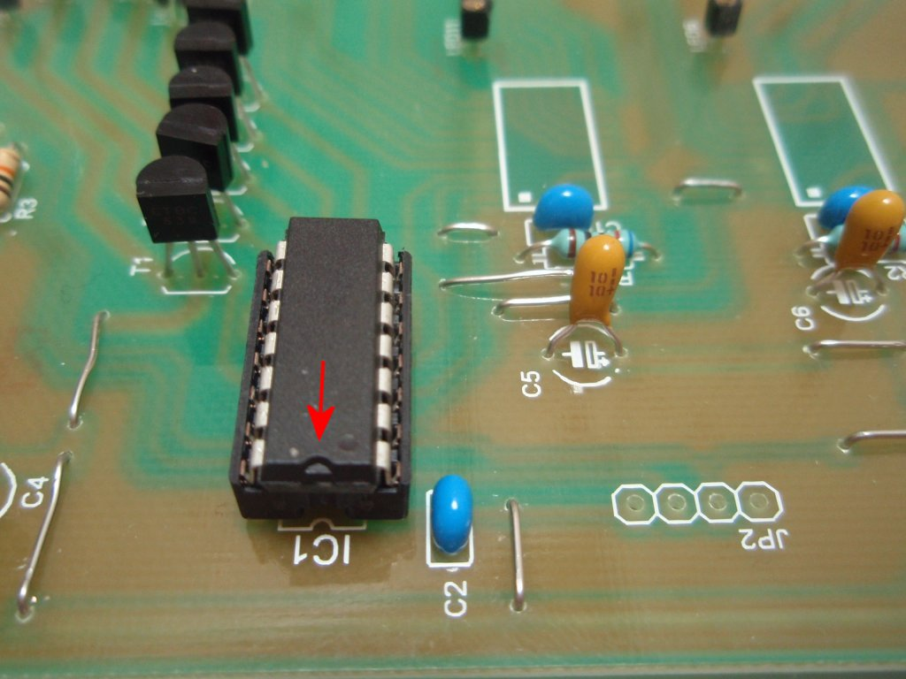 Led Cube Matrix Driver The Whole Circuitry Processor Part Current Drivers Fig