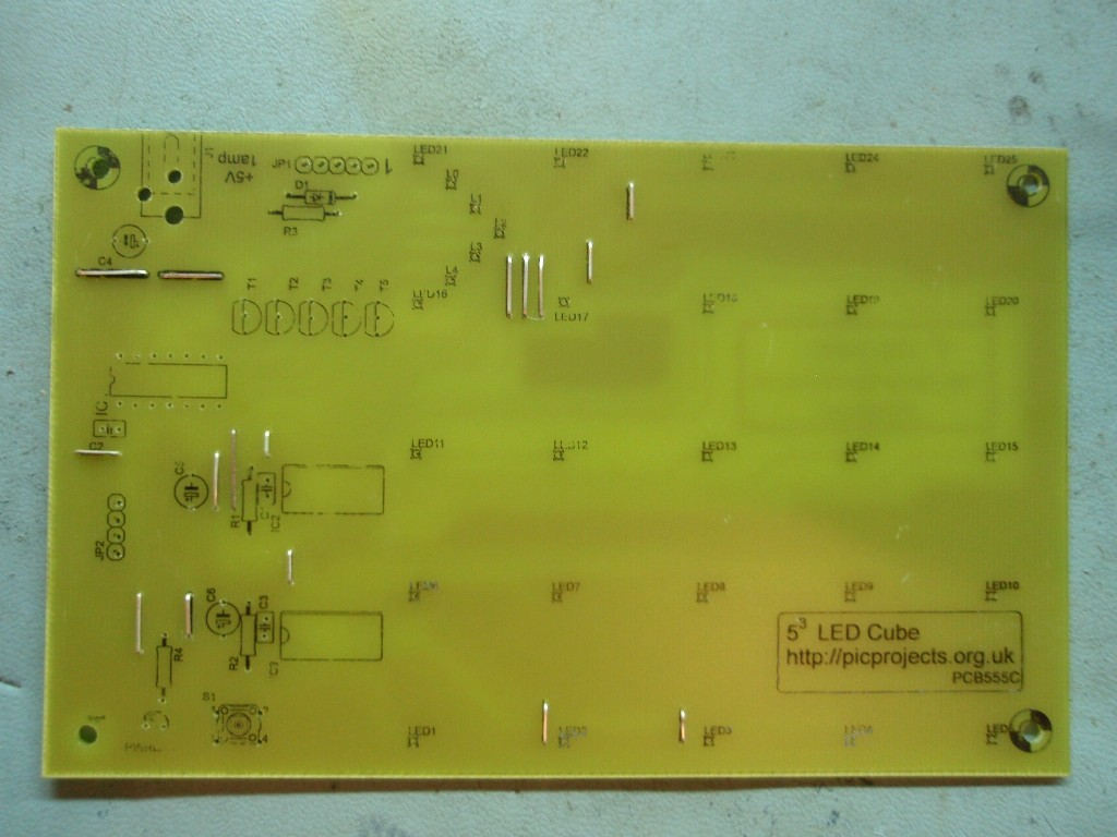 For More Detail 3x3x3 Led Cube Using Pic16f690 Microcontroller
