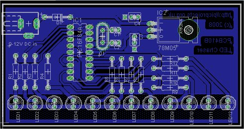 PCB artwork and overlay small view