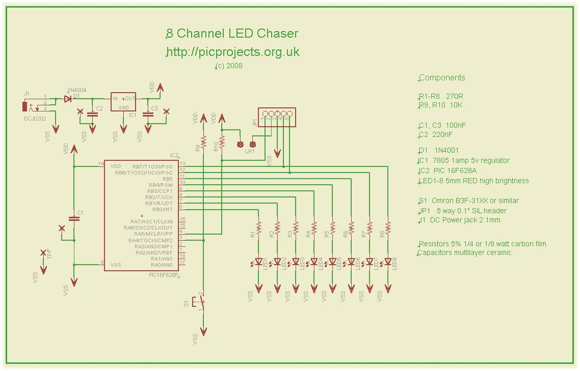 8 Channel Pwm Led Chaser Wiring Diagram Price Sign