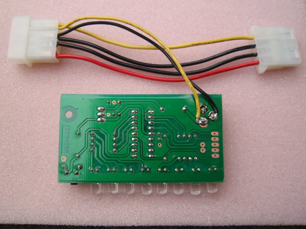 8 Channel Pwm Led Chaser The Leds In This Circuit Produce A Chasing Pattern If You Plan On Using Inside Pc As Case Mod Can Power It From Supply