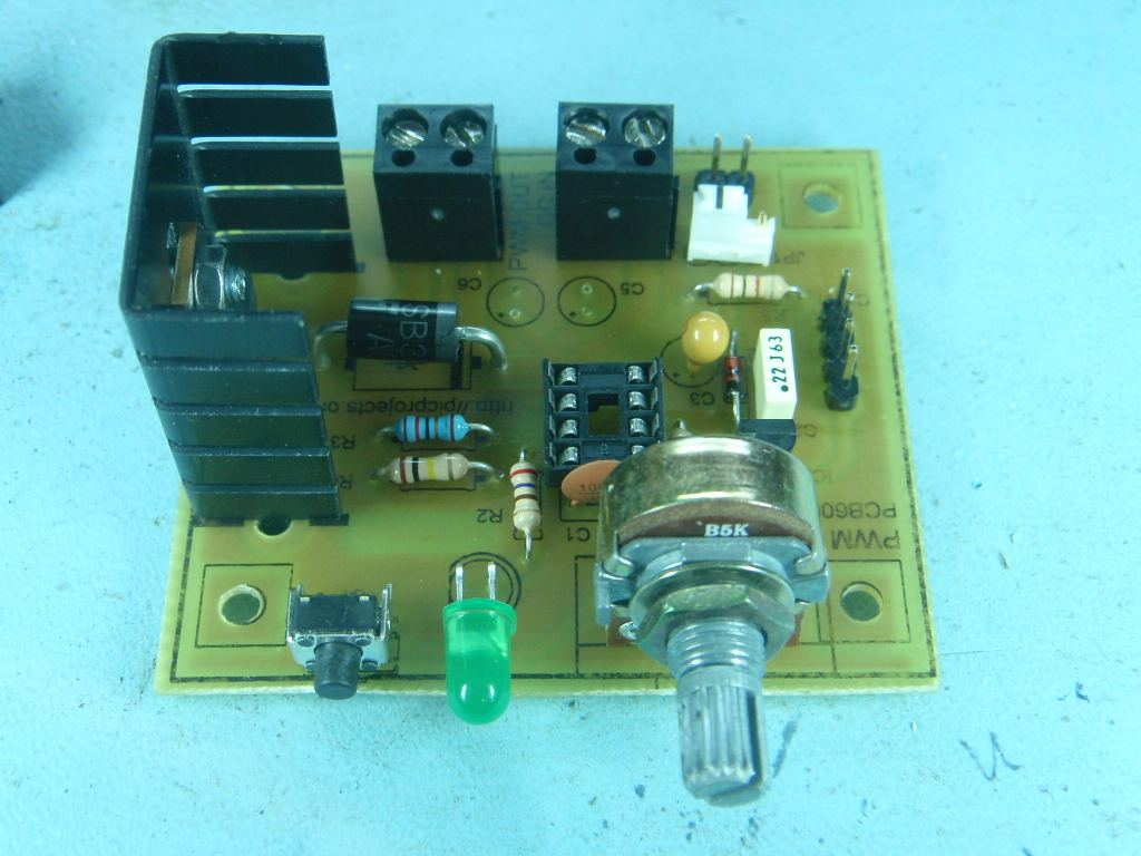 Pwm Dc Motor Controller Simple Pwn Speed Control