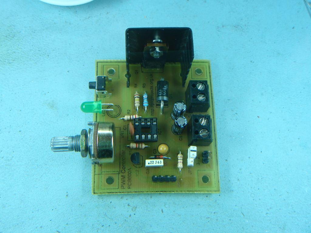 PWM DC Motor Controller