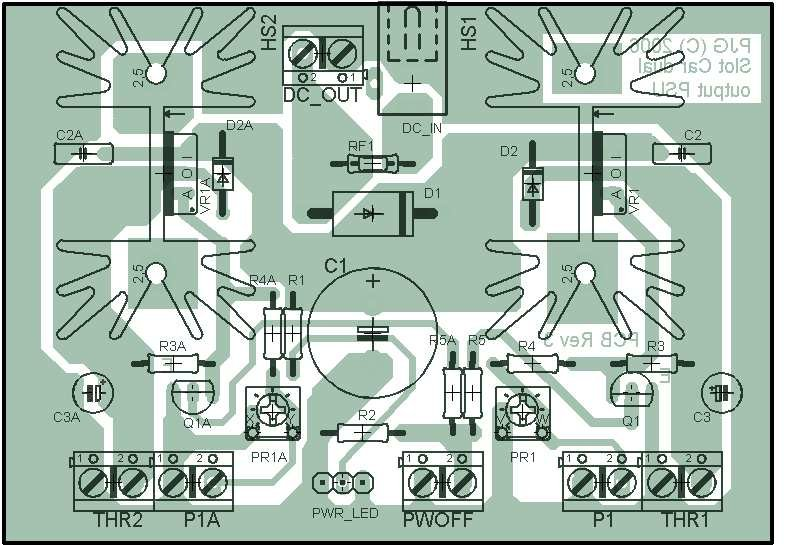 Power Supply With Short Circuit Protection Schematic Design