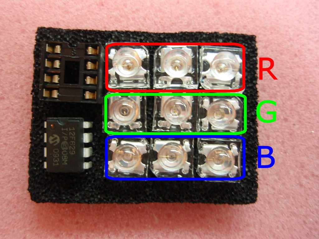 Rgb Led Mood Light Driver Fashion Lighting Controller Circuit Schematic Circuits