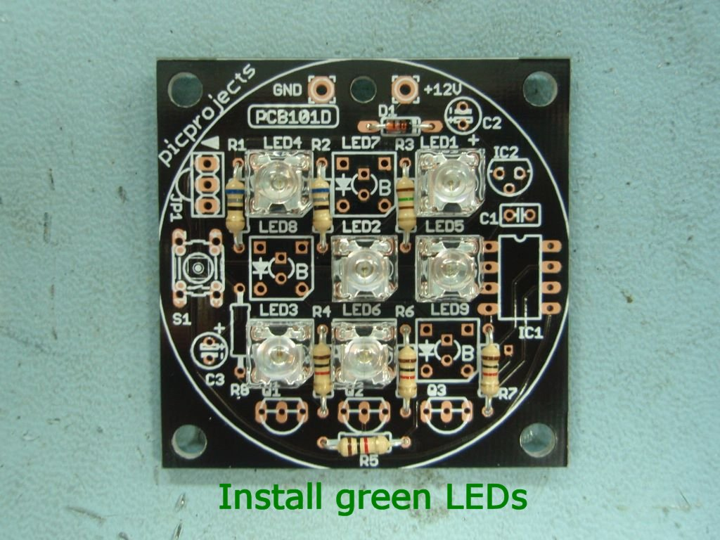 Rgb Led Mood Light Driver Leds 3mm And 5mm Which Can Be Connected Using The Adapter Removing If You Get Mixed Up Solder One Into Wrong Position It Is Difficult To Unsolder Them Without Damaging Pcb Or
