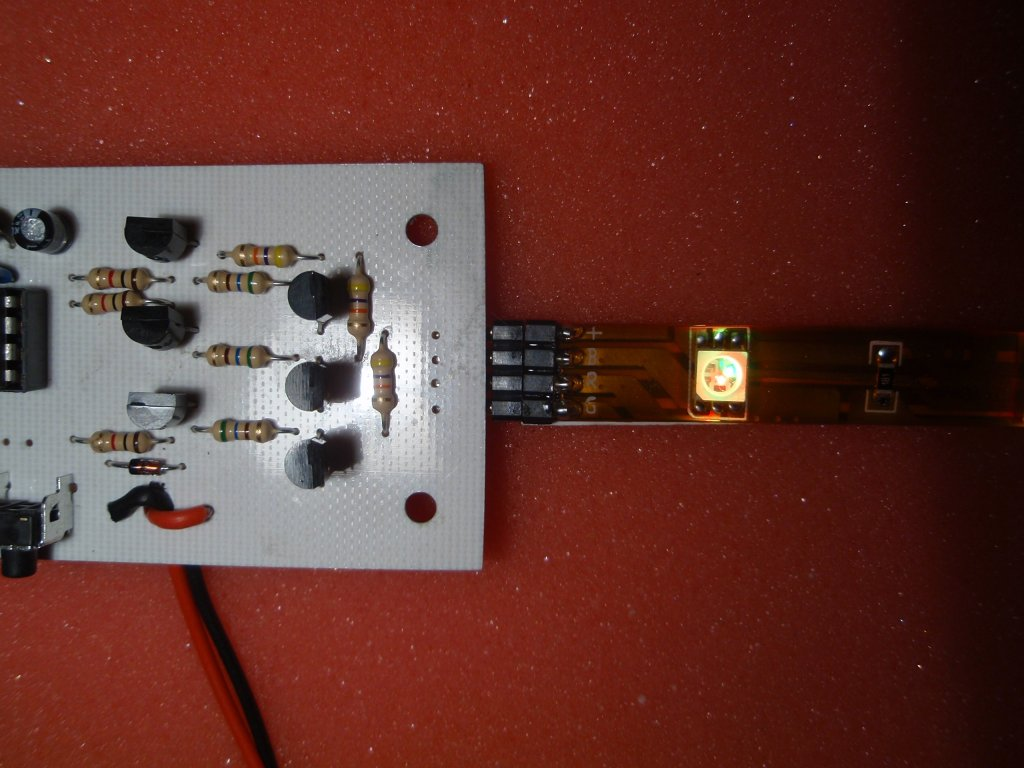 Rgb Led Strip Controller Driver Circuit The Pic12f629 Will Need Programming With Firmware Rgb101g3 Main