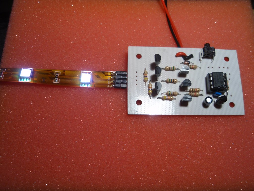 Rgb Led Strip Controller In The 3 Terminal Tri Color Leds Have A Common Ground Or They Will Need To Handle Around Amps Also Make Sure Power Supply Used Is 12 Volt Dc Regulated Output Rated For 4 36 Watts