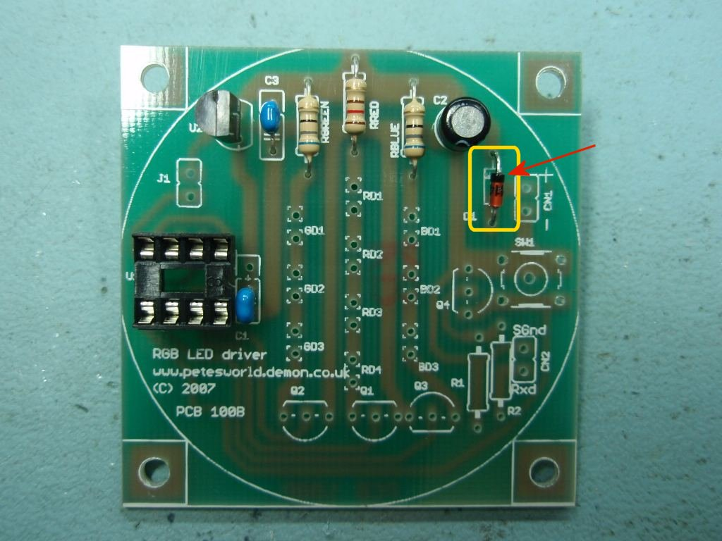 Rgb Led Controller Tri Color Circuit New Driver Photo4