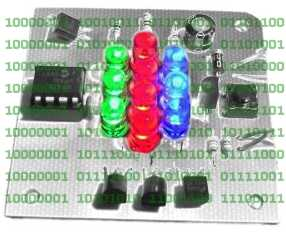 simple serial RGB LED controller and driver