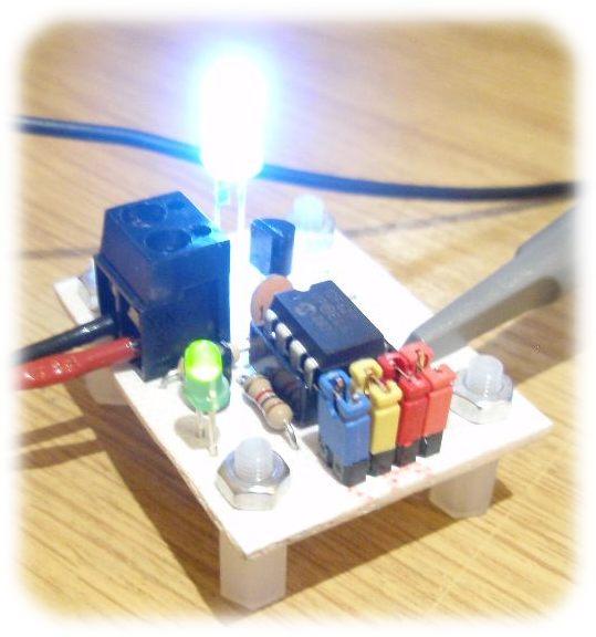 led strobe, circuit diagram